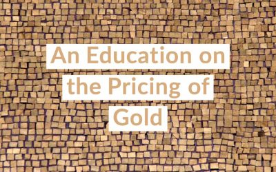 An Education on the Pricing of Gold