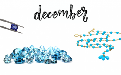 December Birthstones: Turquoise, Tanzanite, Zircon